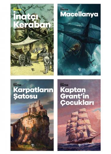Çok Okunan Jules Verne Seti - 4 Kitap