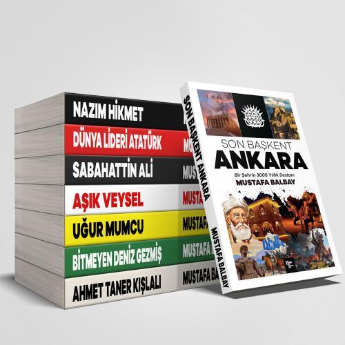 Çok Okunan Mustafa Balbay Kitapları Seti - Mustafa Balbay -Halkkitabev
