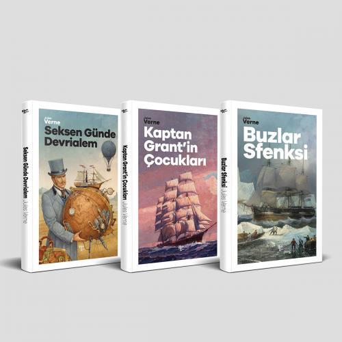 Çok Sevilen Jules Verne Öyküleri 2 - 3 Kitap
