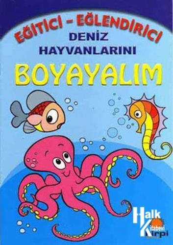 Deniz Hayvanlarını Boyayalım