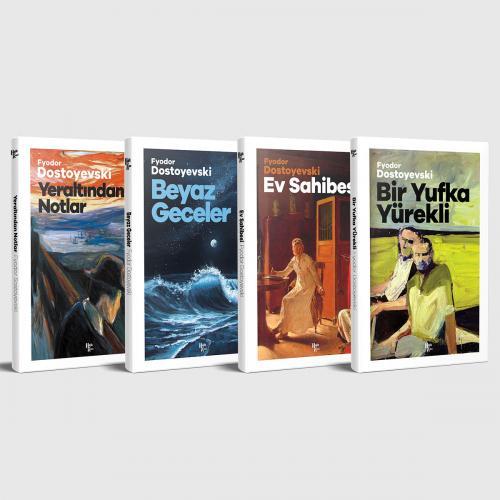 Dostoyevski Unutulmaz Eserleri - 4 Kitap