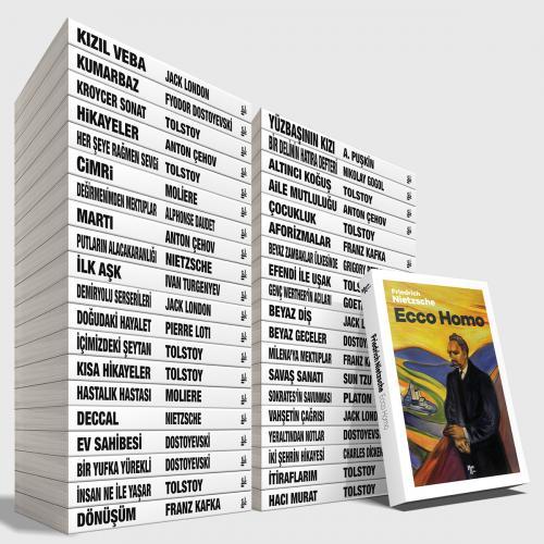 Büyük Dünya Klasikleri Kütüphanesi Seti - 40 Kitap