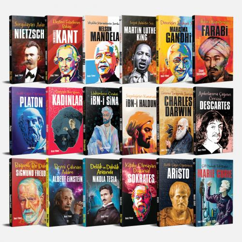 Özgür Bilim İnsanları Seti - 18 Kitap - -Halkkitabevi