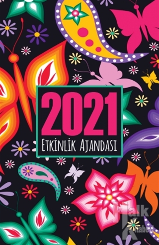 Ebru - 2021 Akademik Ajanda - -Halkkitabevi