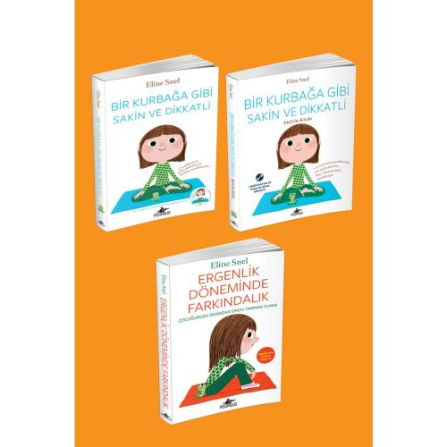 Eline Snel Farkındalık Kitapları Takım Set (3 Kitap CD Destekli)