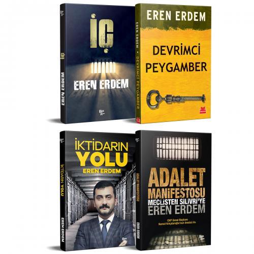 Eren ERDEM Devrimci kitap set 4 Kitap