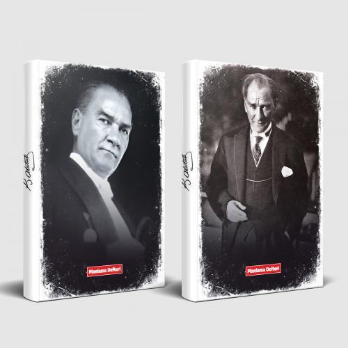 Tarihsiz Atatürk Defter Gazi Paşa ve Önder - -Halkkitabevi