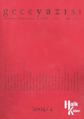 Geceyazısı 2004/4