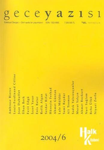Geceyazısı 2004/6