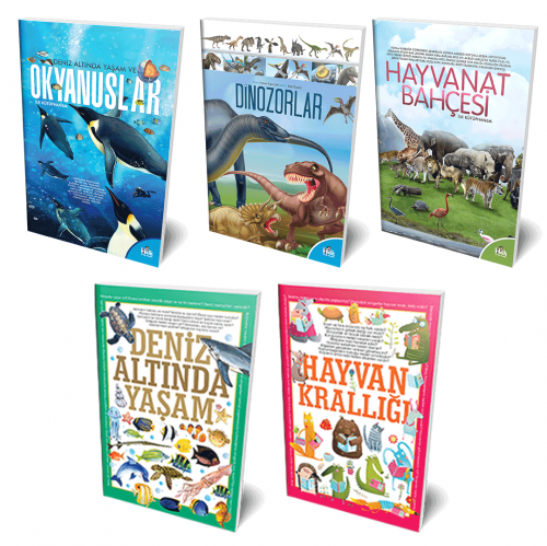 Hayvanlar Alemi 5 Kitap