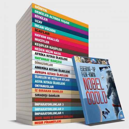 Çocuk Eğitim Kütüphanesi Seti - 27 Kitap