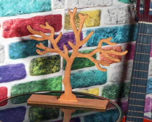 Lora Ahşap Ağaç Askılık - -Halkkitabevi