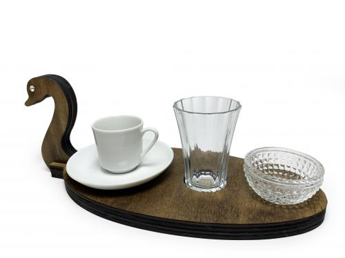 Kuğu Kahve Sunum Takımı - -Halkkitabevi