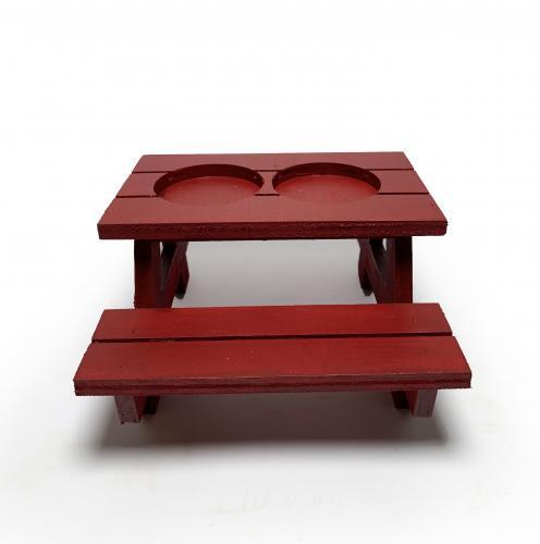 Lora Dekoratif Kırmızı Bank Kaktüslük