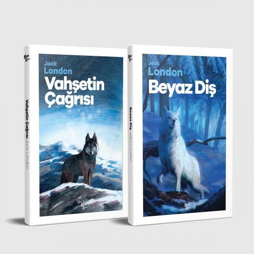 Jack London Unutulmaz Eserleri Seti - 2 Kitap
