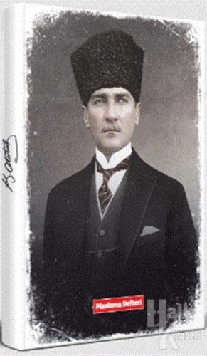 Tarihsiz Atatürk Planlama Defteri - Kalpaklı - -Halkkitabevi
