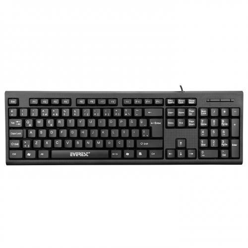 Everest KB-871U Siyah USB Q Standart Klavye