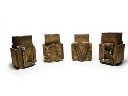 Love 4'lü Mumluk Seti HK970 - -Halkkitabevi
