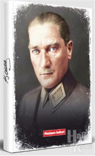 Tarihsiz Atatürk Planlama Defteri - Mareşal - -Halkkitabevi