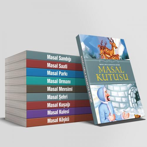 Masal Kutusu Seti - 10 Kitap