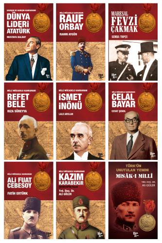 Milli Mücadele Kahramanları Kitap Seti