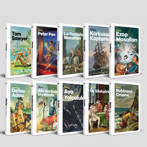 Modern Çocuk Klasikleri Seti - 10 Kitap