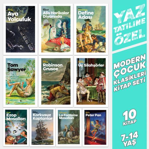 Yaz'a Özel Modern Çocuk Klasikleri Seti - 10 Kitap