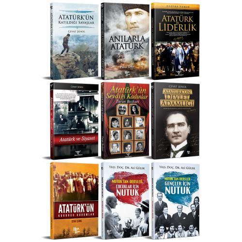 Mustafa Kemal Kütüphanesi Seti - 9 Kitap