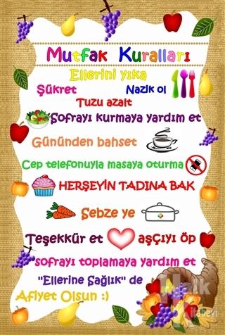 Mutfak Kuralları Poster