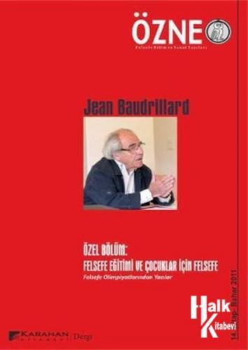 Özne Sayı: 14 Jean Baudrillard