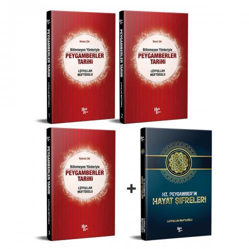 Peygamberler Tarihi Seti ve Hayat Şifreleri - -Halkkitabevi