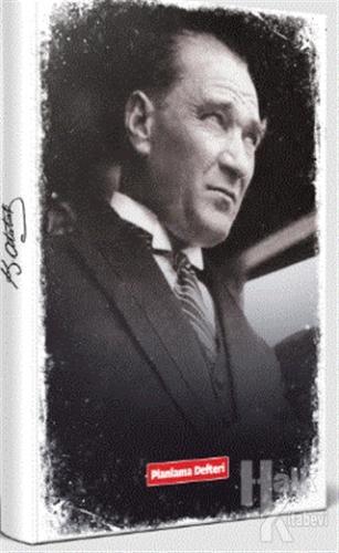 Tarihsiz Atatürk Planlama Defteri - Portre - -Halkkitabevi