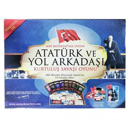 Atatürk ve Yol Arkadaşı - -Halkkitabevi