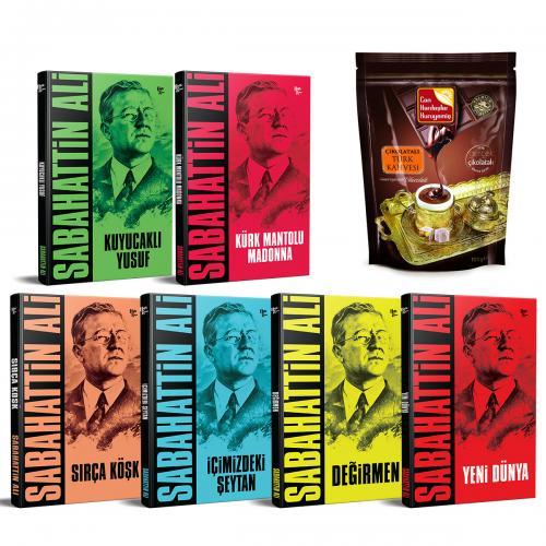 Sabahattin Ali Kitap Seti ve Çikolatalı Türk Kahvesi (100gr)