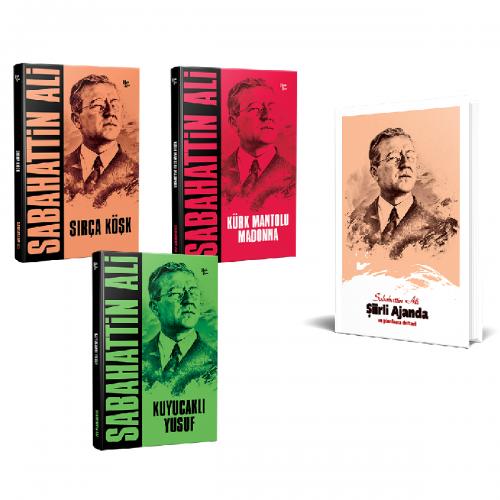 Sabahattin Ali Seti 3 Kitap ve Ajanda