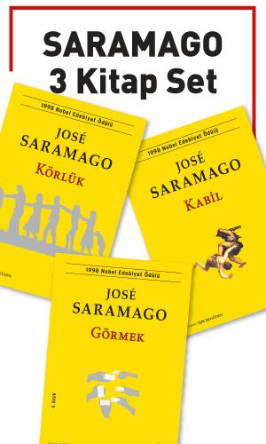 Saramago 3 Kitap Set - Jose Saramago -Halkkitabevi