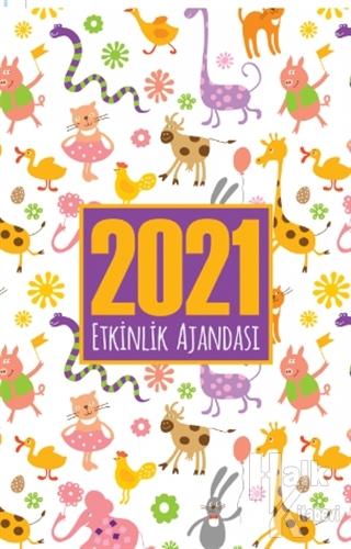 Sevimli Hayvanlar - 2021 Akademik Ajanda - -Halkkitabevi