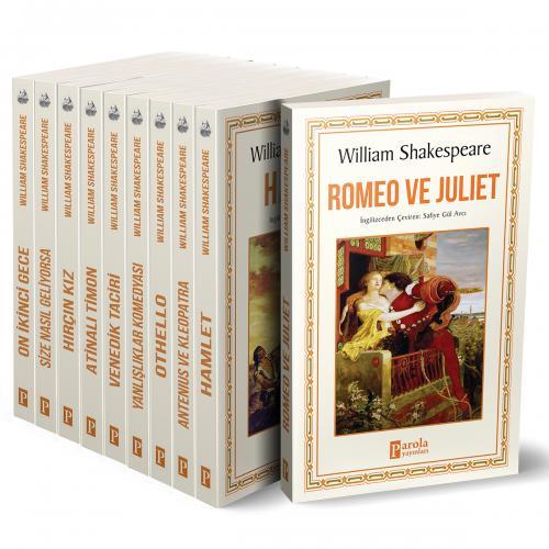 Shakespeare Seti - 10 Kitap