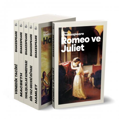 Çok Sevilen Shakespeare Eserleri Seti - 6 Kitap