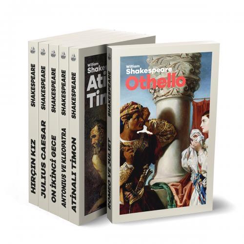 Çok Okunan Shakespeare Eserleri Seti - 6 Kitap - William Shakespeare -