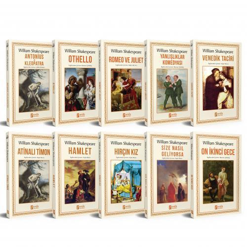 Shakespeare Seti - 10 Kitap - William Shakespeare -Halkkitabevi
