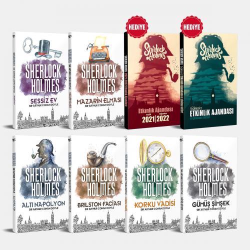 Sherlock Holmes Seti - 6 Kitap ve 2 Ajanda