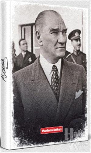 Tarihsiz Atatürk Planlama Defteri - Sivil - -Halkkitabevi