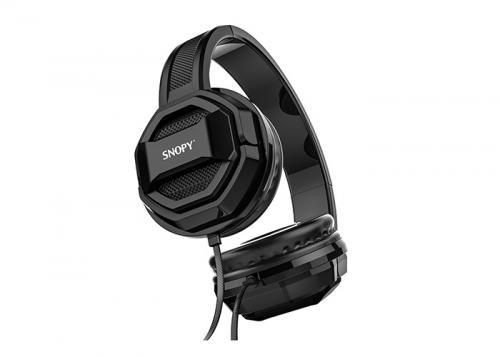 Snopy SN-101 BONNY Siyah PC&Telefon Mikrofonlu Kulaklık