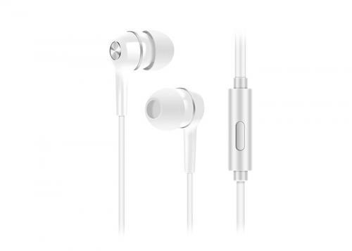 Snopy SN-778 LEGATO MP3 Kulak İçi Beyaz Mikrofon - Kulaklık