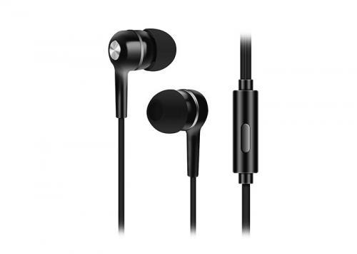 Snopy SN-778 LEGATO MP3 Kulak İçi Siyah Mikrofon - Kulaklık