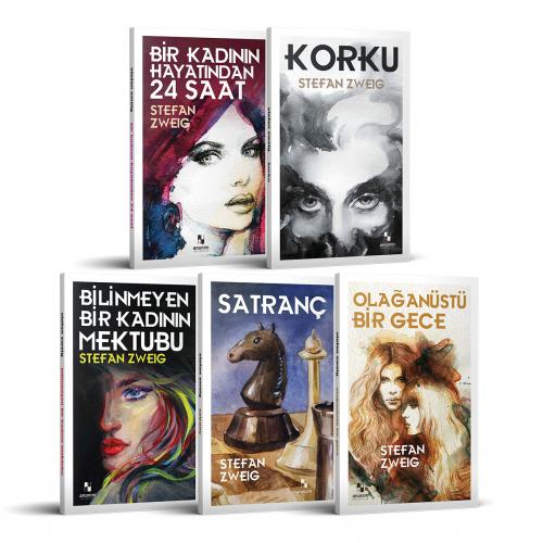 Stefan Zweig Seçme Eserleri - 5 Kitap