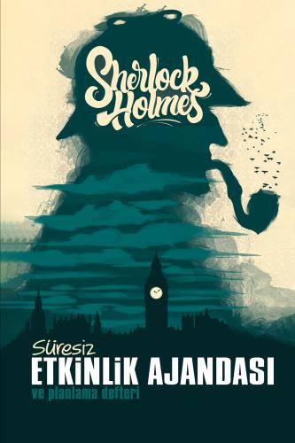 Sherlock Holmes Süresiz Etkinlik Ajandası ve Planlama Defteri