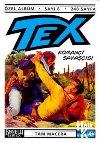 Tex Albüm-8 Komançi Savaşçısı