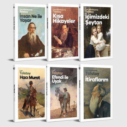 Tolstoy Unutulmaz Eserleri - 6 Kitap